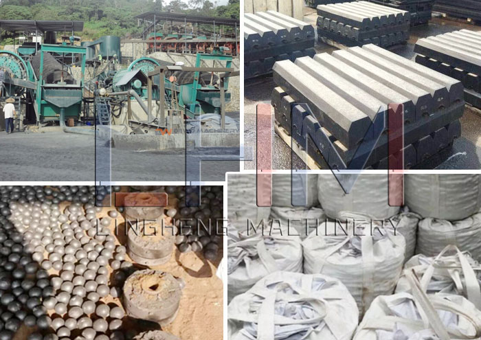 Ball Mill of difference raw materials