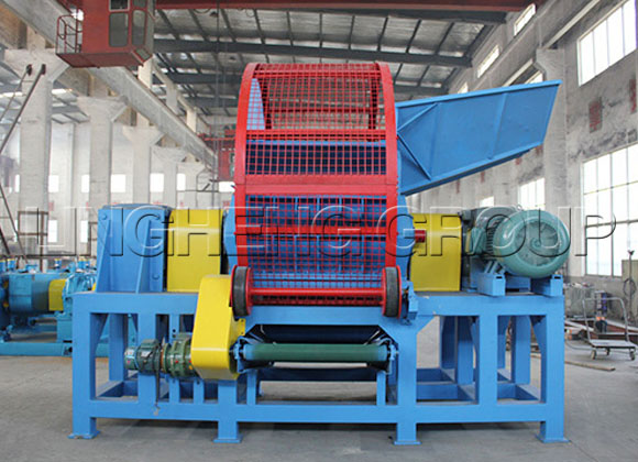 Tyre Shredder Machine