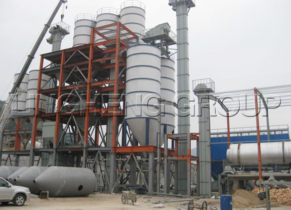 Dry Mortar Mixer Production Line