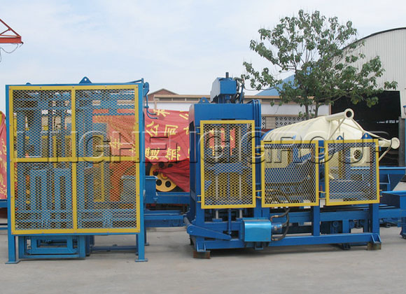 QT Series Concrete Brick Machine